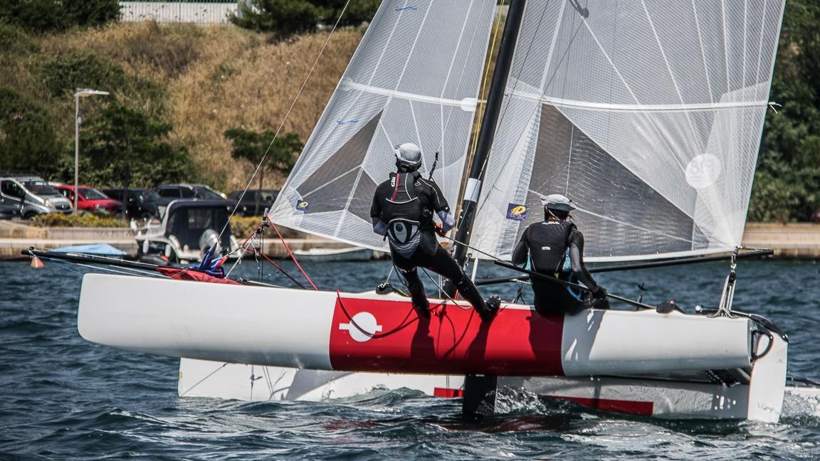 1. Wave Cat Race  •「Katamaran F18」•  Šibenik