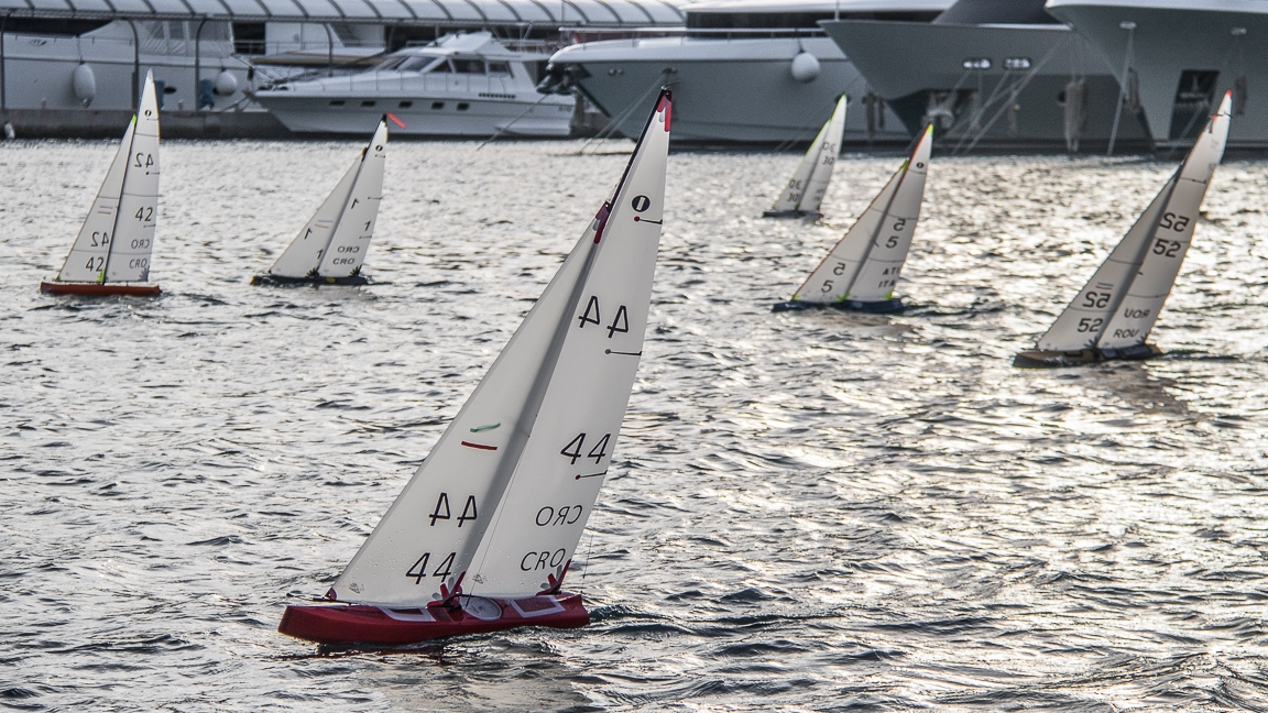 13. Rogoznica's Cup  •「IOM」•  Qualifications, Fleet Bravo R2