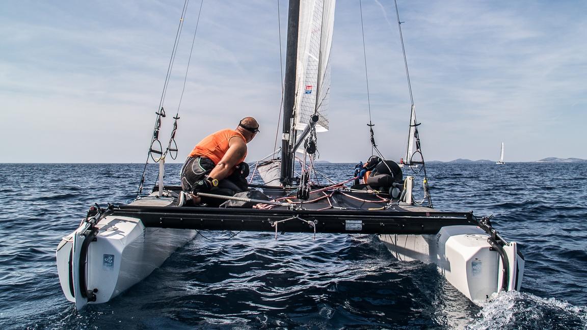 11. regata katamarana  •「F18」•  Primošten