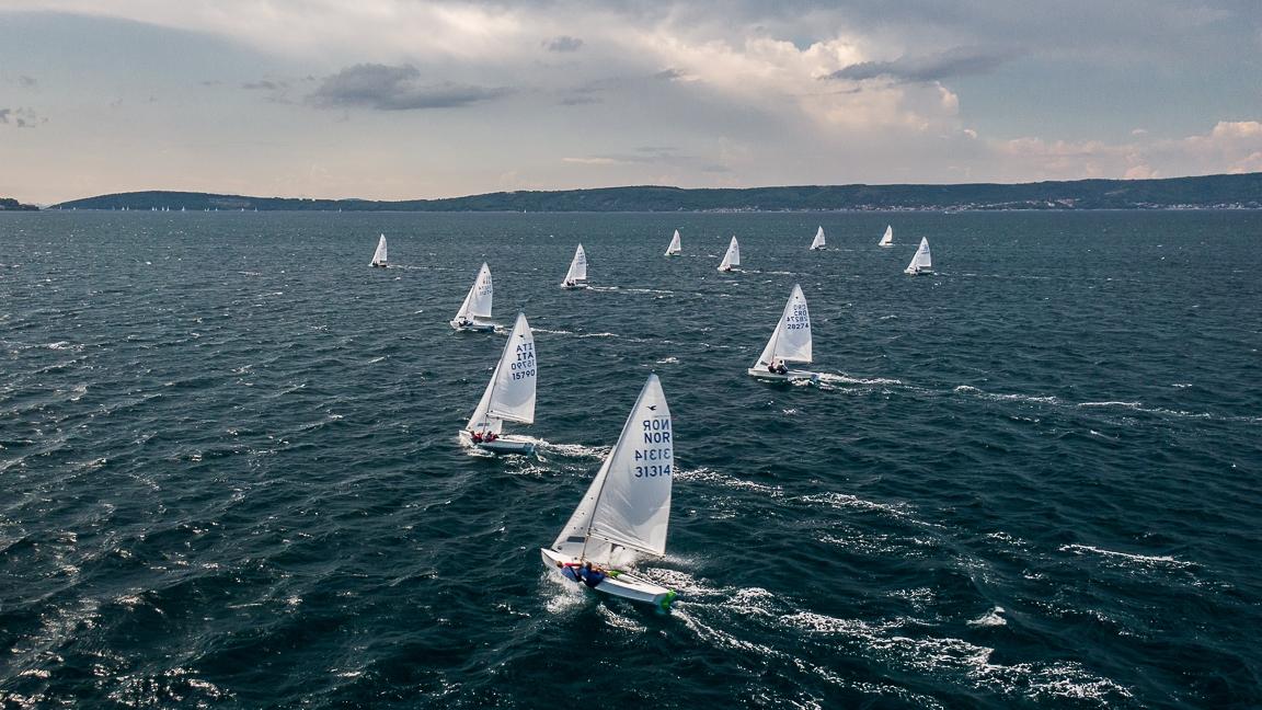 Test regata pred Europsko  •「Šljuke」•  JK Split